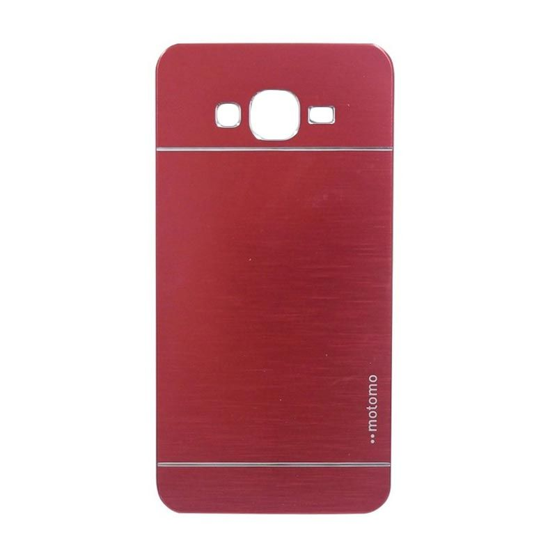 Motomo Metal Red Casing for Samsung Galaxy Grand 2 (G7106)