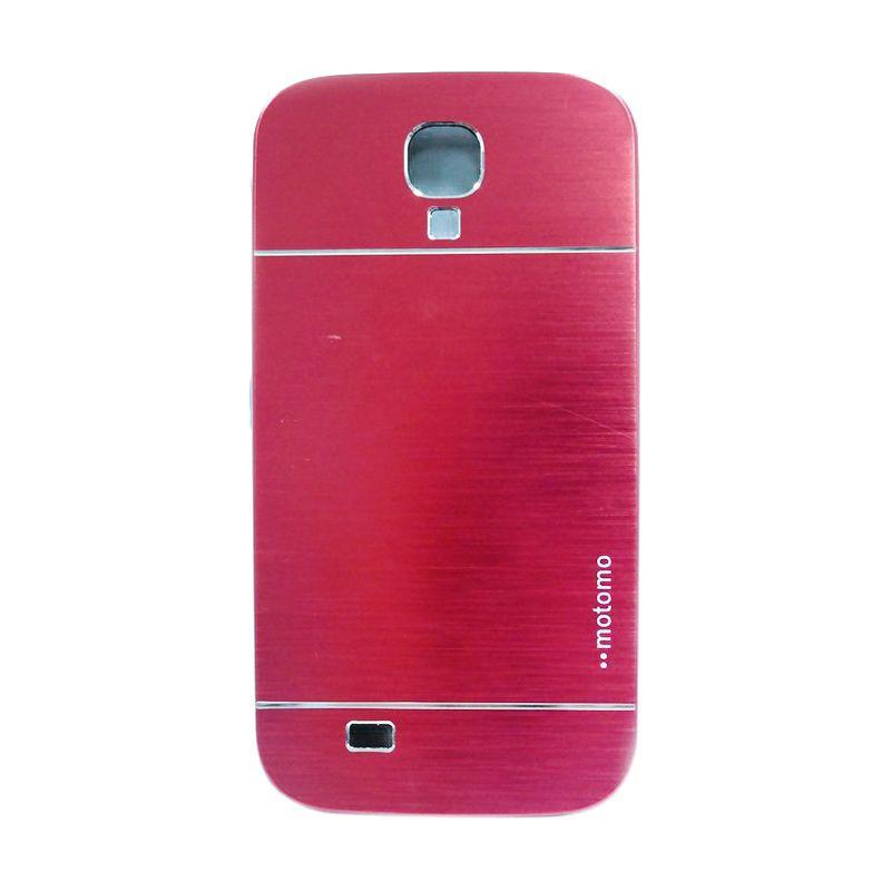 Motomo Metal Red Casing for Samsung Galaxy S4