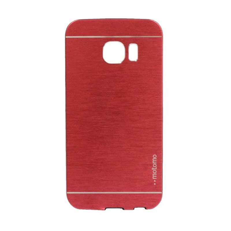 Motomo Metal Red Casing for Samsung Galaxy S6 Edge