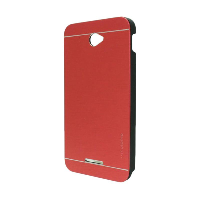 Motomo Metal Red Casing for Sony Xperia E4