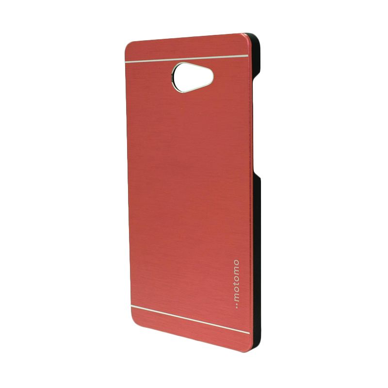 Motomo Metal Red Casing for Sony Xperia M2