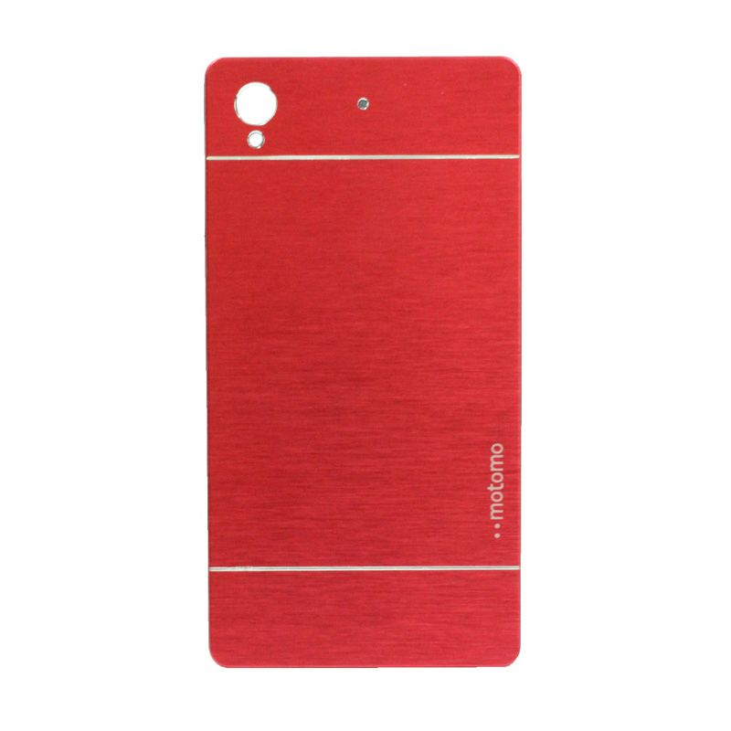 Motomo Metal Red Casing for Sony Xperia Z1