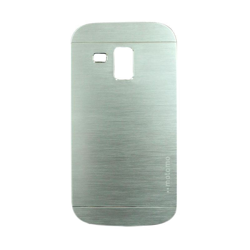 Motomo Metal Silver Casing for Samsung Galaxy S Duos