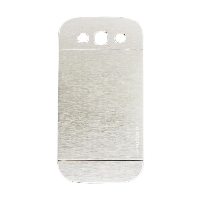 Motomo Metal Silver Casing for Samsung Galaxy S3
