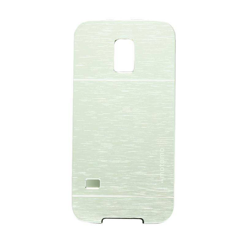 Motomo Metal Silver Casing for Samsung Galaxy S5 Mini
