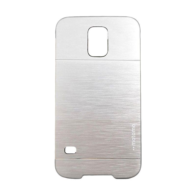 Motomo Metal Silver Casing for Samsung Galaxy S5