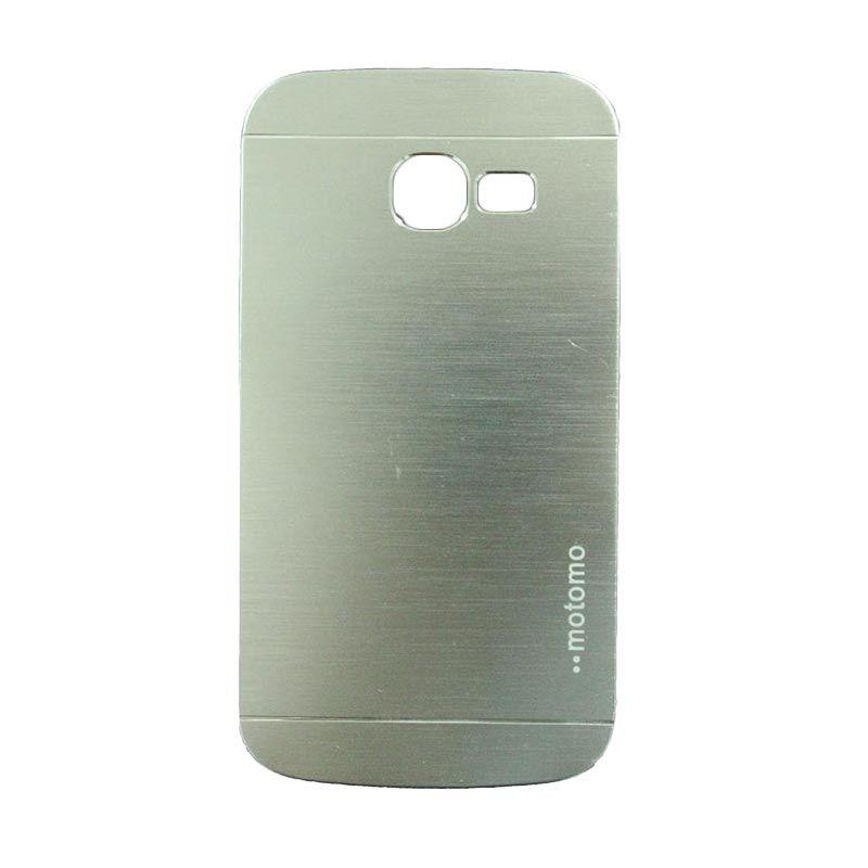 Motomo Metal Silver Casing for Samsung Galaxy Star Pro