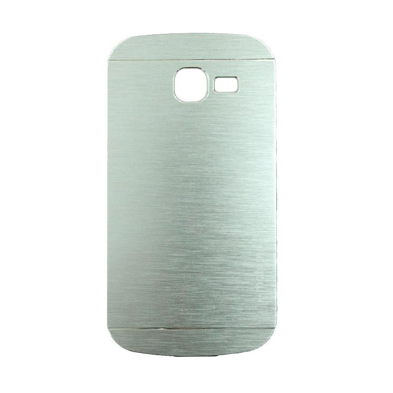 Motomo Metal Silver Casing for Samsung Galaxy Trend