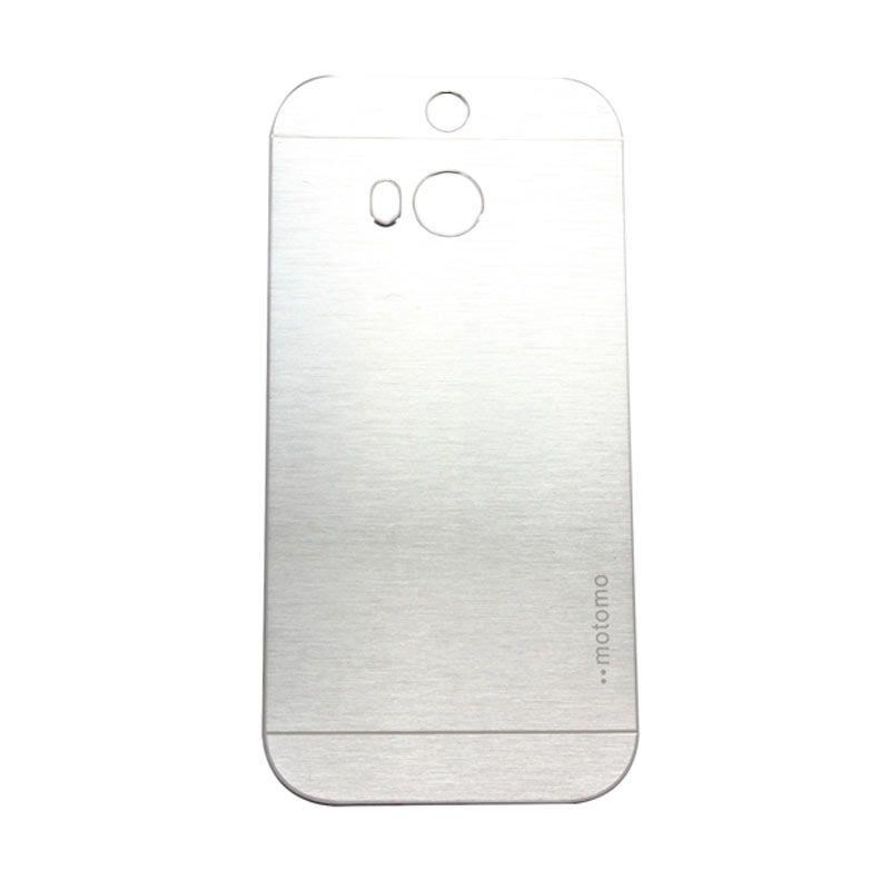 Motomo Metal Silver Casing for HTC One E8