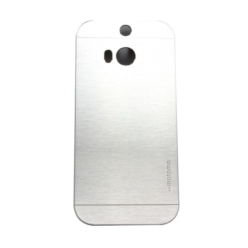 Motomo Metal Silver Casing for HTC One M8