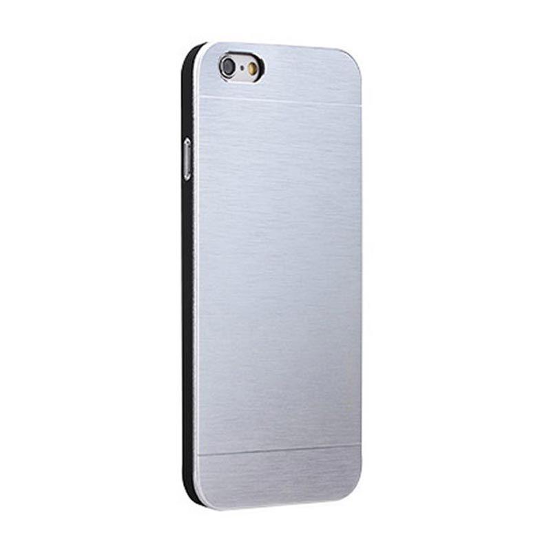 Motomo Metal Silver Casing for iPhone 6