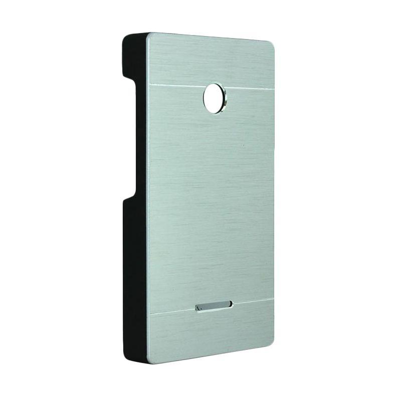 Motomo Metal Silver Casing for Lumia 435