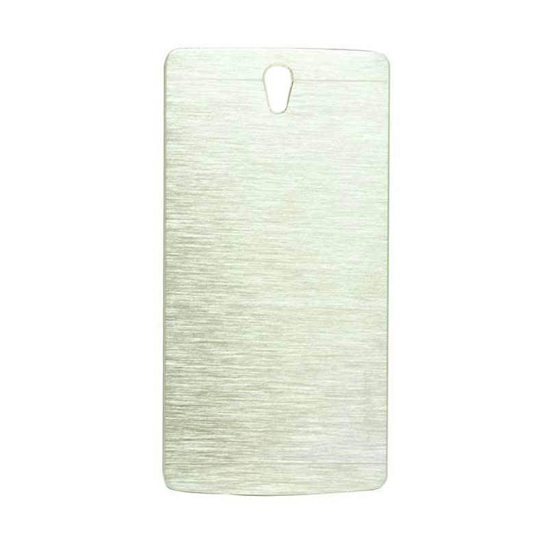 Motomo Metal Silver Casing for Oppo Find 5 Mini R827