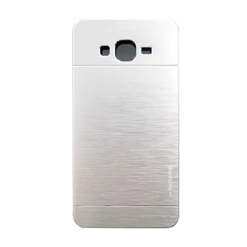Motomo Metal Silver Casing for Samsung Galaxy A3