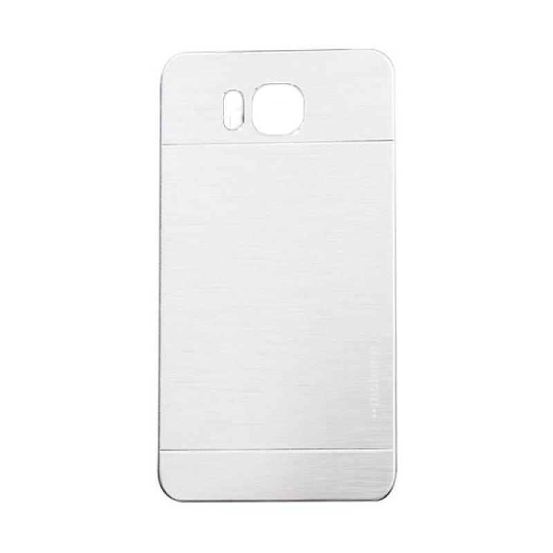 Motomo Metal Silver Casing for Samsung Galaxy Alpha G850