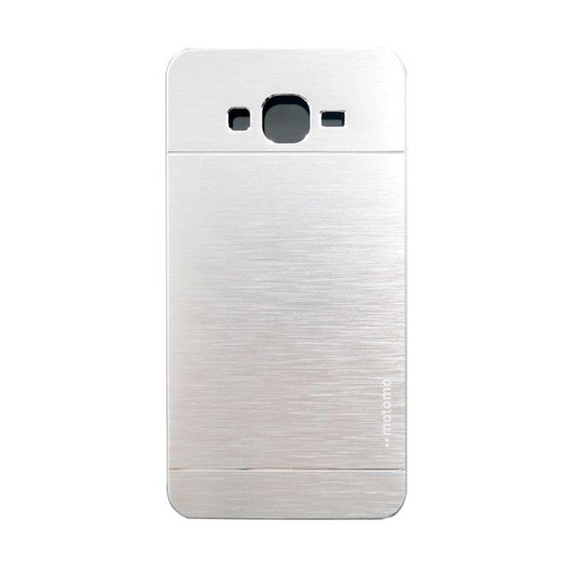 Motomo Metal Silver Casing for Samsung Galaxy Core Plus
