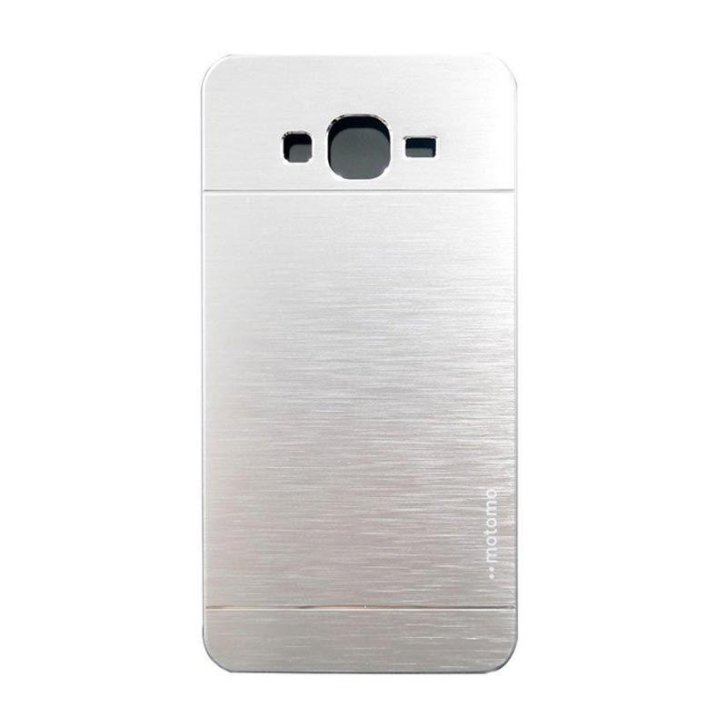 Motomo Metal Silver Casing for Samsung Galaxy Grand (i9082)