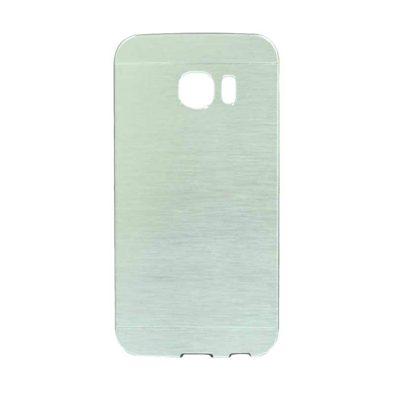 Motomo Metal Silver Casing for Samsung Galaxy S6 Edge