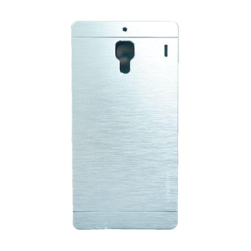 Motomo Metal Silver Casing for Xiaomi Redmi 1S