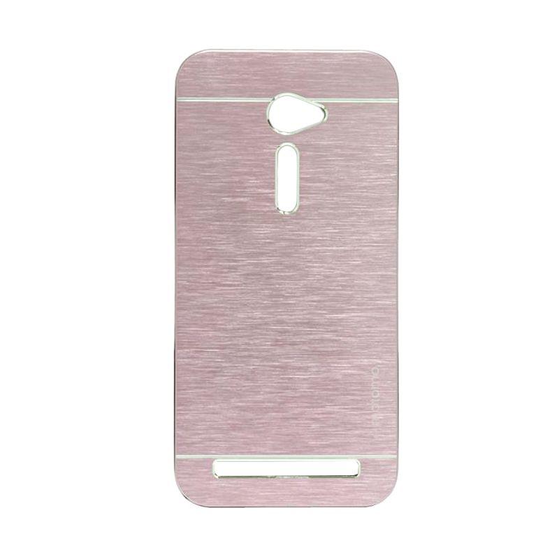 Motomo Metal Soft Pink Casing for Asus Zenfone 2 ZE500CL [5 Inch]
