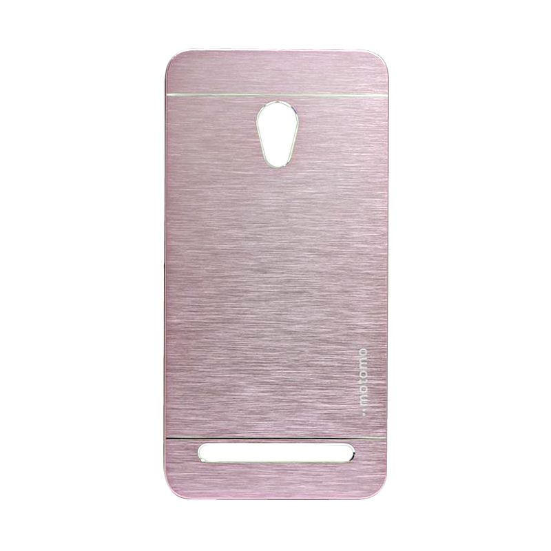 Motomo Metal Soft Pink Casing for Asus Zenfone 5 Lite A502CG