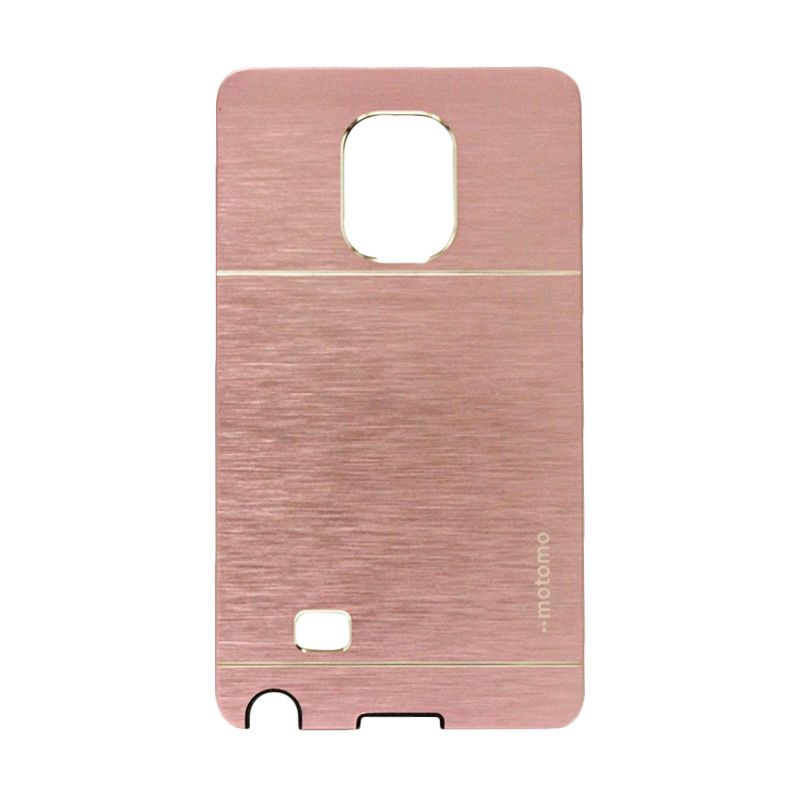 Motomo Metal Soft Pink Casing for Samsung Galaxy Note Edge
