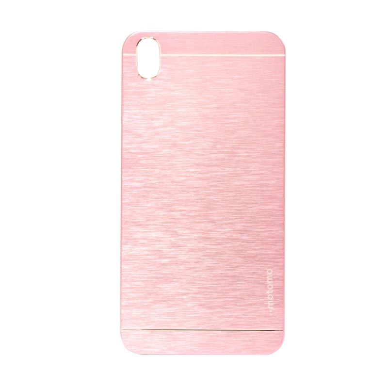 Motomo Metal Soft Pink Casing for HTC 816 Desire