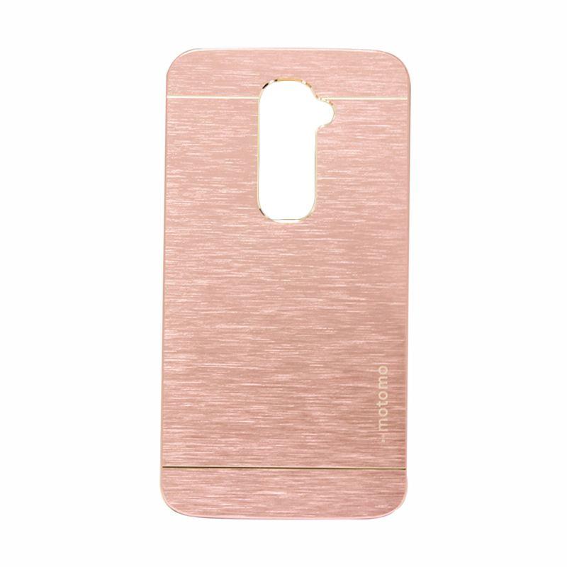 Motomo Metal Soft Pink Casing for LG G2