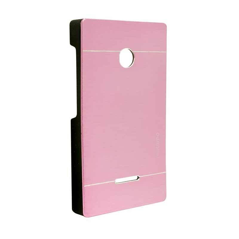 Motomo Metal Soft Pink Casing for Lumia 532