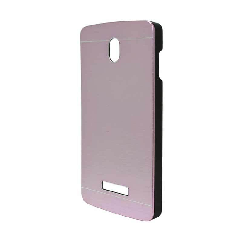 Motomo Metal Soft Pink Casing for Oppo Yoyo R2001