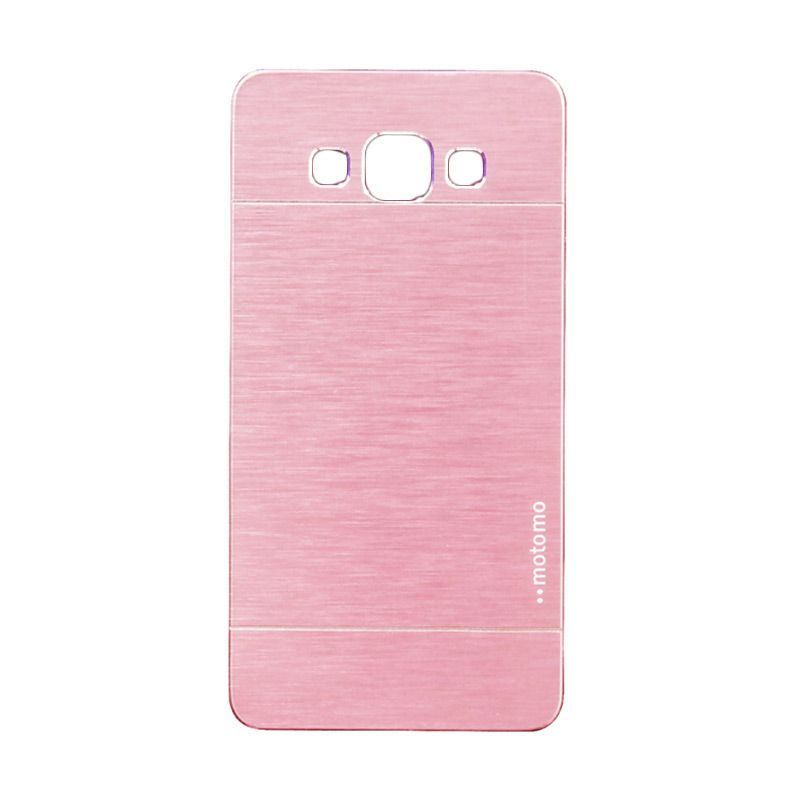 Motomo Metal Soft Pink Casing for Samsung Galaxy A3