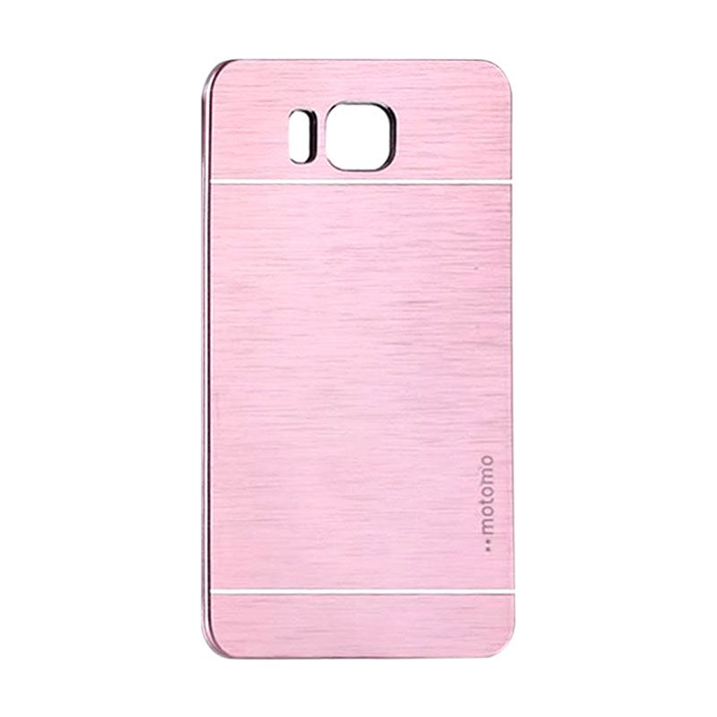 Motomo Metal Soft Pink Casing for Samsung Galaxy Alpha G850