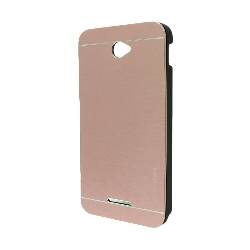 Motomo Metal Soft Pink Casing for Sony Xperia E4