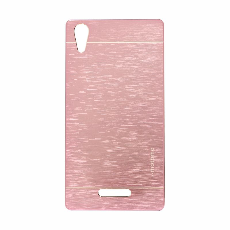 Motomo Metal Soft Pink Casing for Sony Xperia T3