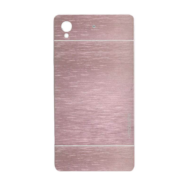 Motomo Metal Soft Pink Casing for Sony Xperia Z1