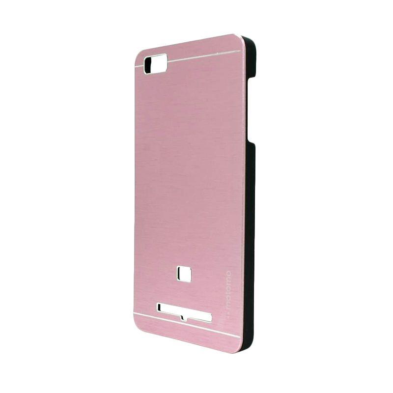 Motomo Metal Soft Pink Casing for Xiaomi Mi4i