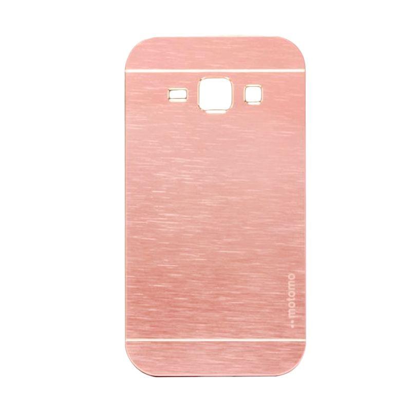 Motomo Metal Soft Pink Casing for Samsung Galaxy J1