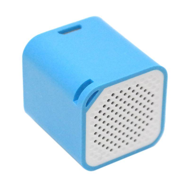 Music Angel Smart Box Mini Blue Wireless Speaker