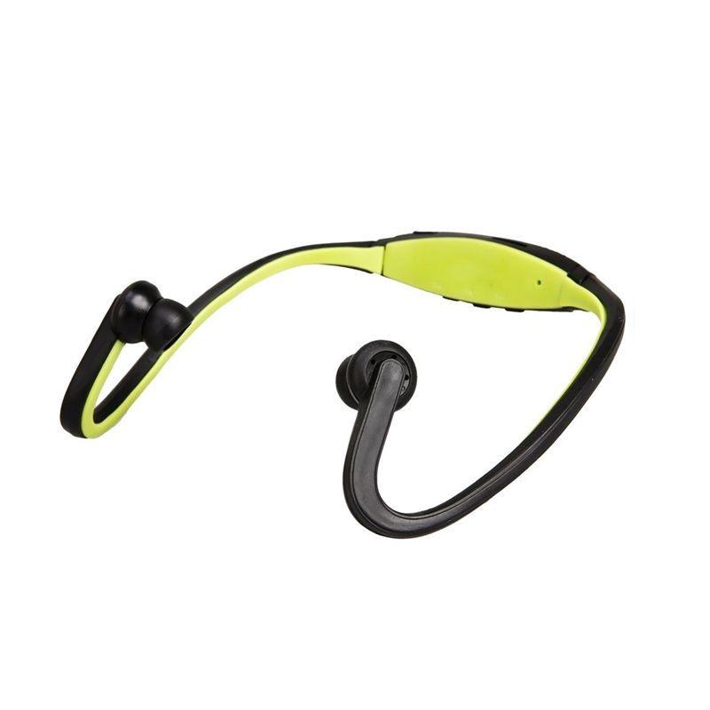 Music Angel Sports MP3 Player Green Headset