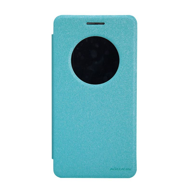 Nillkin Sparkle Leather Biru Casing for Asus Zenfone 6