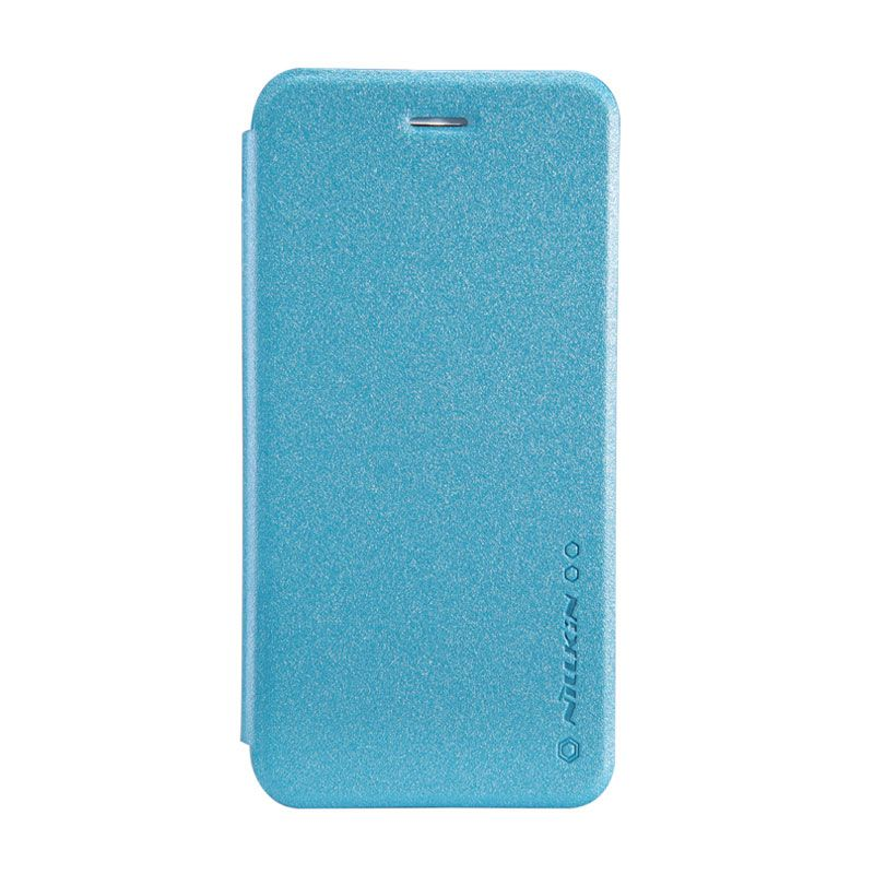 Nillkin Sparkle Leather Biru Casing for iPhone 6