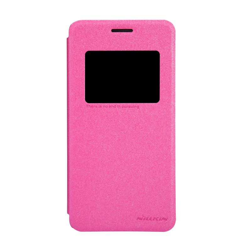 Nillkin Sparkle Leather Pink Casing for Asus Zenfone 5