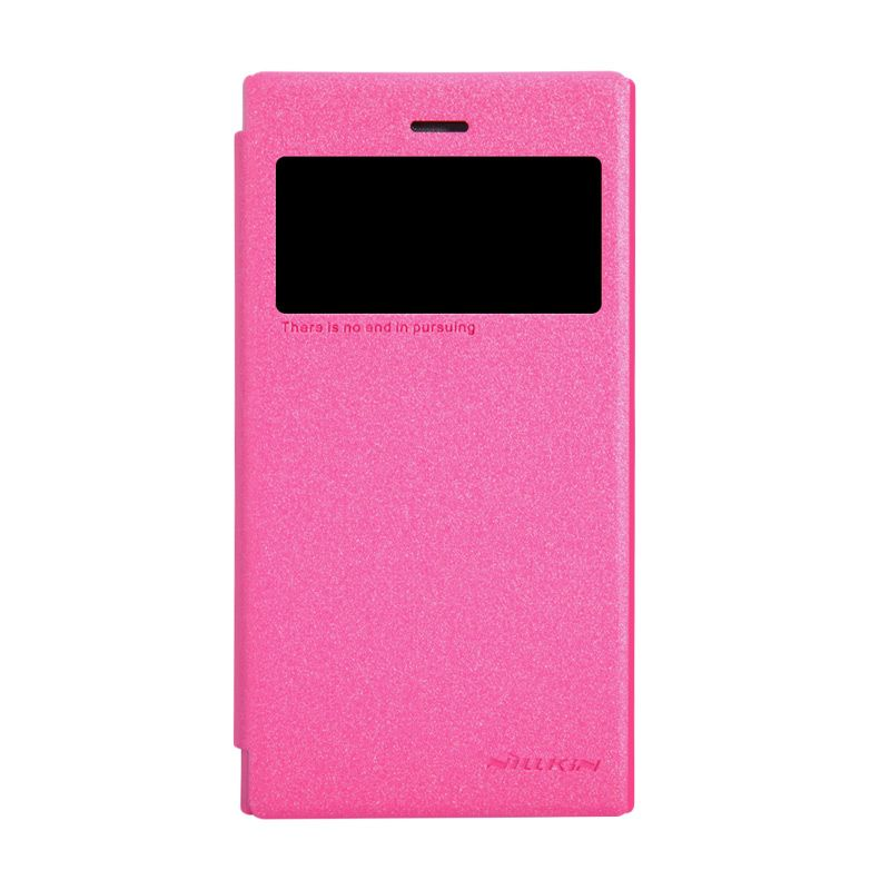 Nillkin Sparkle Leather Pink Casing for Blackberry Z3