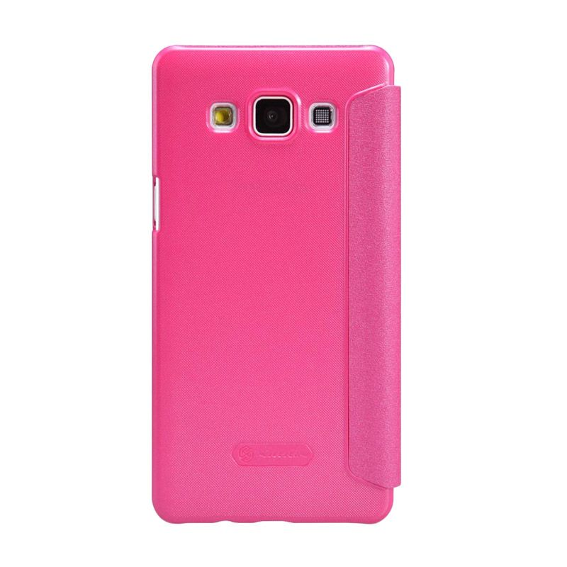 Nillkin Sparkle Leather Pink Casing for Galaxy A5