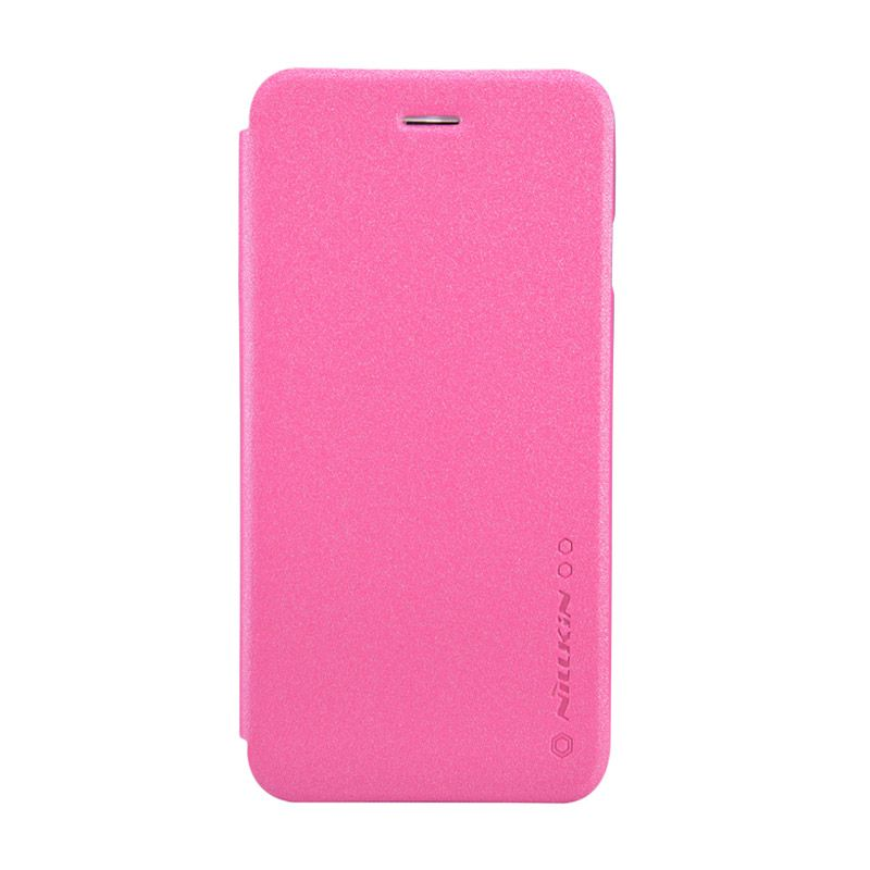 Nillkin Sparkle Leather Pink Casing for iPhone 6