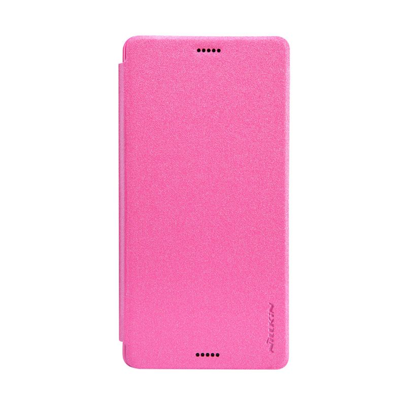 Nillkin Sparkle Leather Pink Casing for Sony Xperia Z3