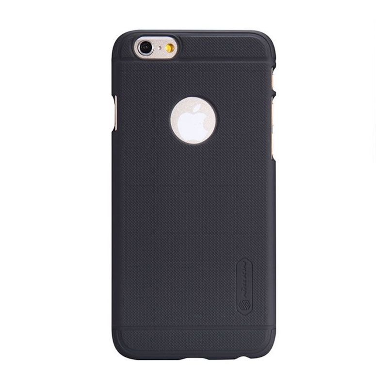 Nillkin Super Frosted Casing Hitam for iPhone 6 + Nillkin Screen Protector
