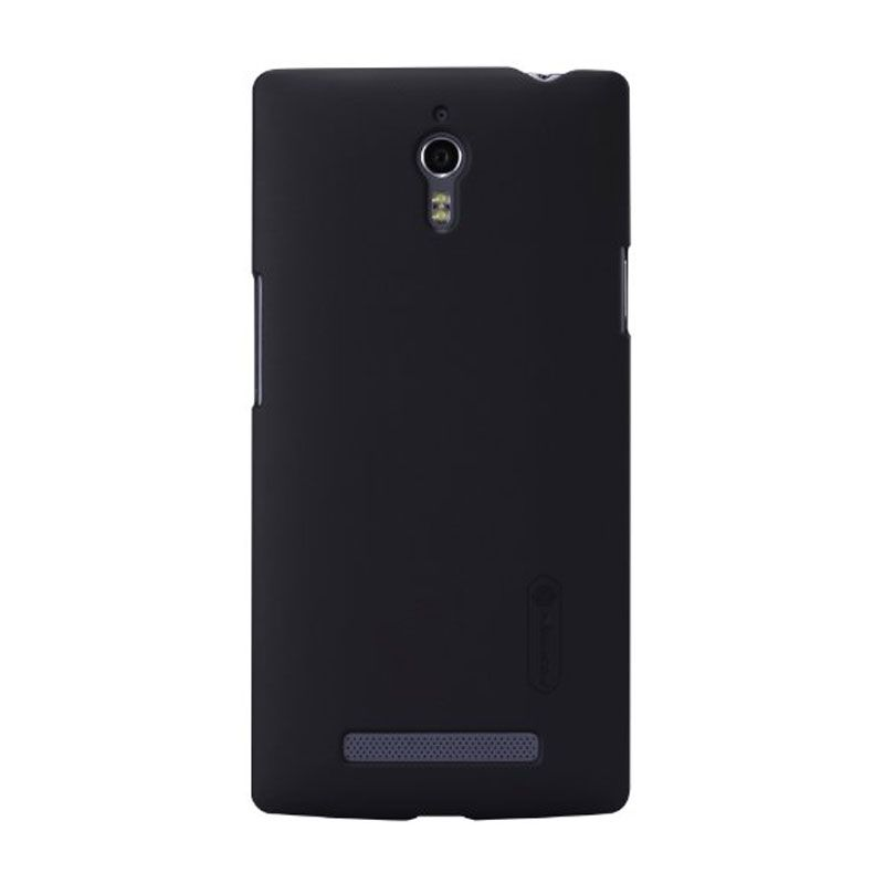 Nillkin Super Frosted Casing Hitam for Oppo Find 7 X9007 + Nillkin Screen Protector