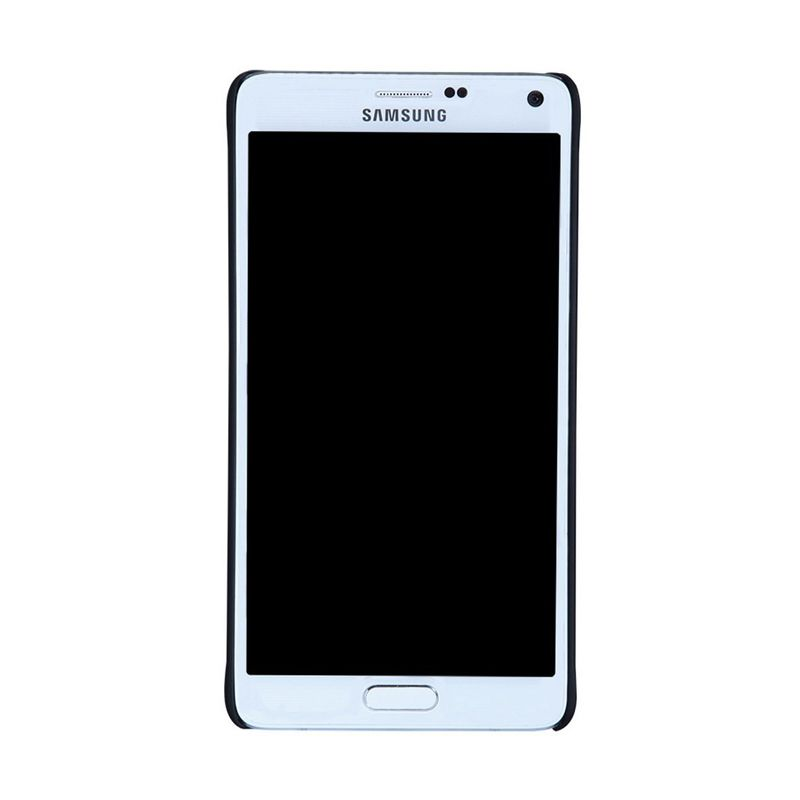 Jual Nillkin Super Frosted Casing Hitam for Samsung Galaxy Note 4 + Nillkin Screen Protector Online