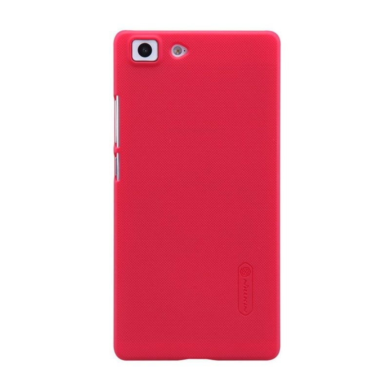 Nillkin Super Frosted Casing Merah for Oppo R5 R8107 + Nillkiin Screen Protector